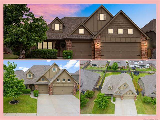 13414 S 20th Street, Bixby, OK 74008 (MLS #2114572) :: Hopper Group at RE/MAX Results
