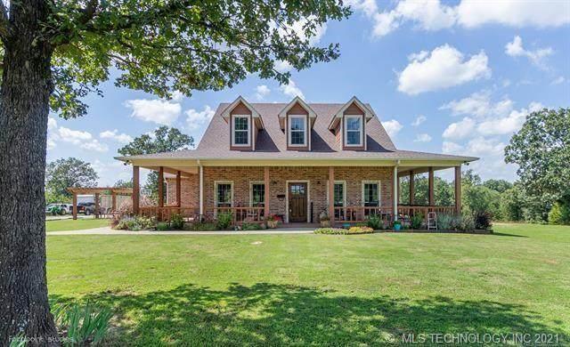5809 S Katy Road, Atoka, OK 74525 (MLS #2115371) :: Active Real Estate
