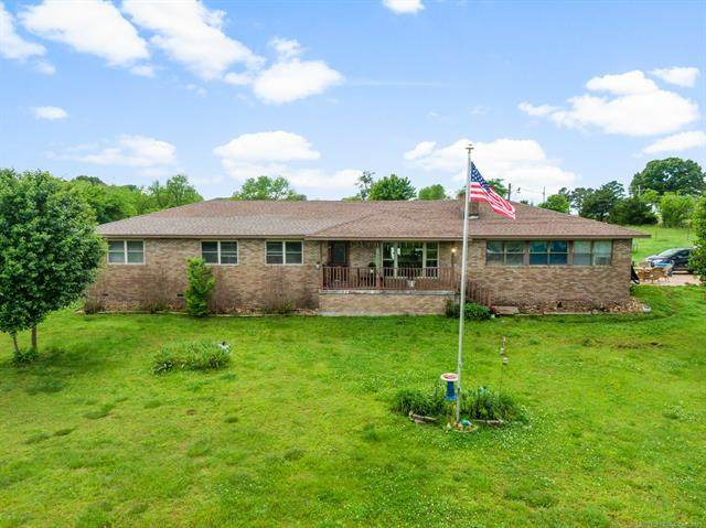 10601 S 689, Wyandotte, OK 74370 (MLS #2115894) :: Active Real Estate