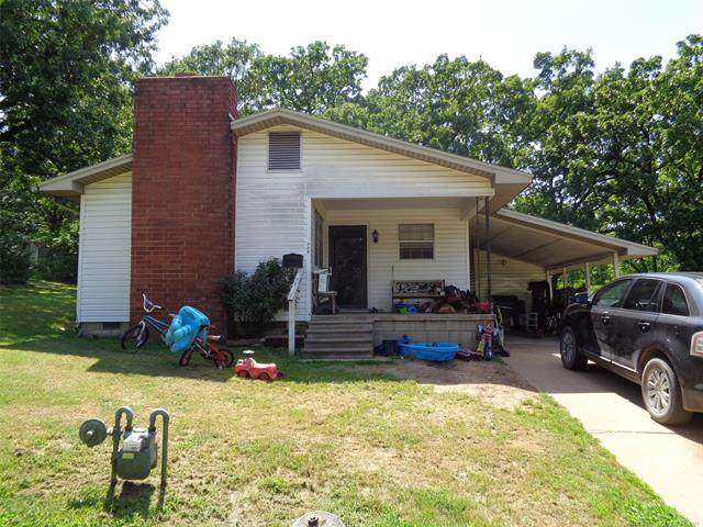 318 S 7th Street, Eufaula, OK 74432 (MLS #2116887) :: Hopper Group at RE/MAX Results