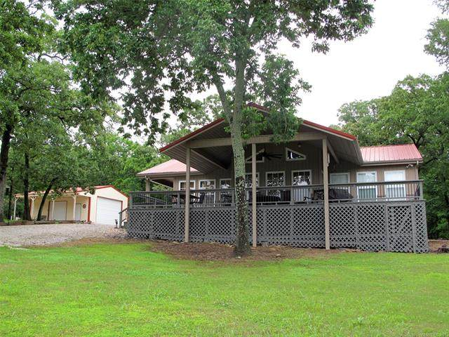 18937 W Woodhaven Drive, Cookson, OK 74427 (MLS #2117166) :: 580 Realty