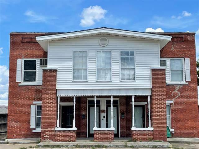 105 S Poplar Street, Sapulpa, OK 74066 (MLS #2117902) :: 918HomeTeam - KW Realty Preferred
