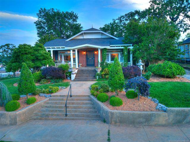 201 Forest Avenue, Eufaula, OK 74432 (MLS #2118027) :: 918HomeTeam - KW Realty Preferred