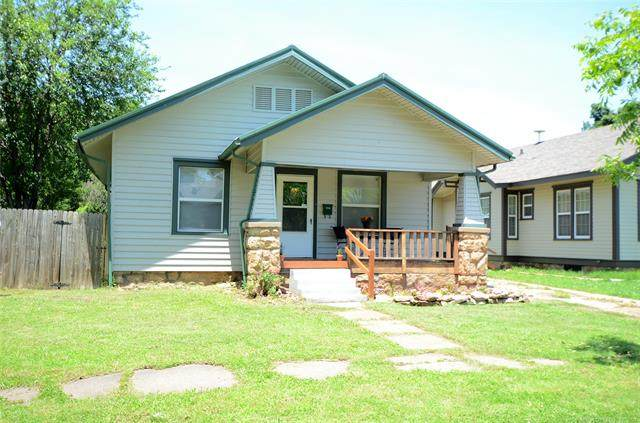 808 E Moses Street, Cushing, OK 74023 (MLS #2118422) :: Active Real Estate