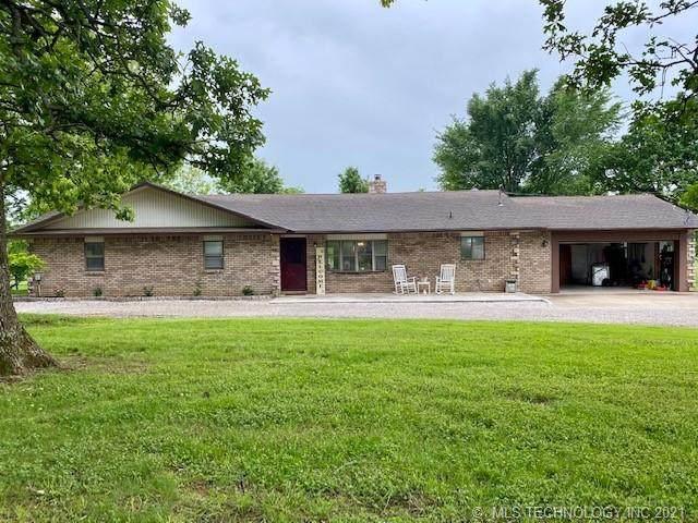 1505 S 4465 Road, Welch, OK 74369 (MLS #2118459) :: 918HomeTeam - KW Realty Preferred