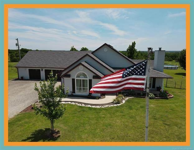 2149 Red Oak Road, Sulphur, OK 73086 (MLS #2118495) :: Active Real Estate