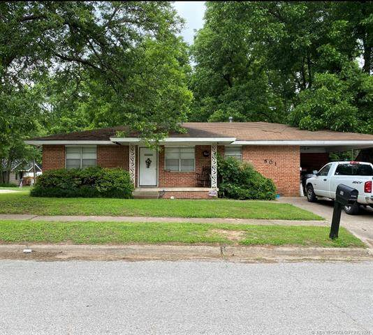 801 A NW, Ardmore, OK 73401 (MLS #2118514) :: 580 Realty