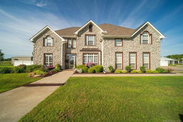 5868 W 493 Road, Pryor, OK 74361 (MLS #2118584) :: 580 Realty