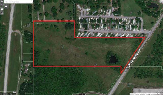 Cherokee Street, Catoosa, OK 74015 (MLS #2118769) :: 918HomeTeam - KW Realty Preferred