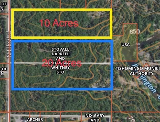 Elks Road, Tishomingo, OK 73460 (MLS #2118791) :: 580 Realty