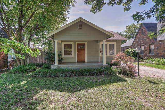 1319 S Gary Avenue, Tulsa, OK 74104 (MLS #2118831) :: House Properties