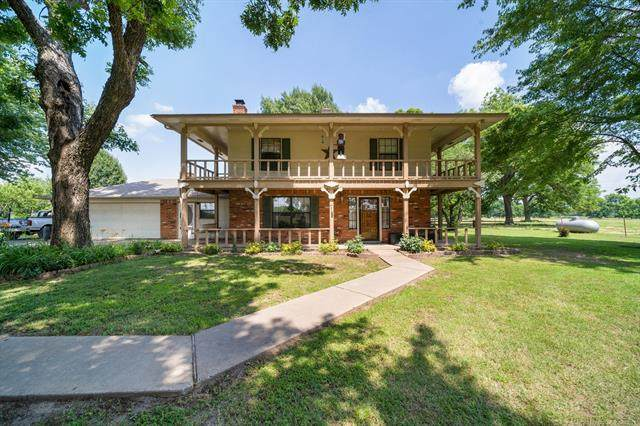 1760 N 220 Road, Mounds, OK 74047 (MLS #2119020) :: Hopper Group at RE/MAX Results