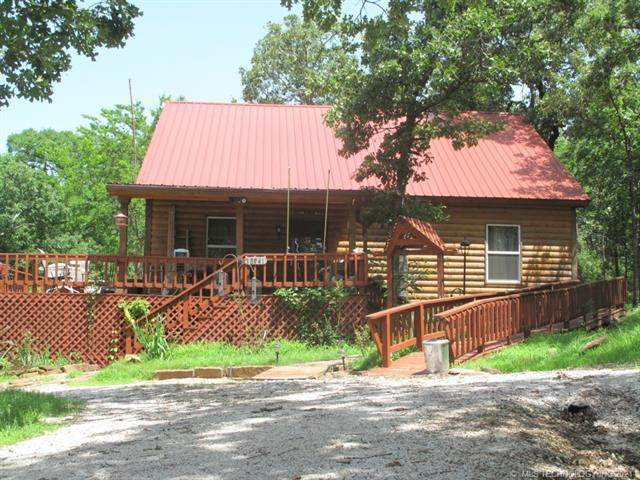 18941 W Woodhaven Drive, Cookson, OK 74427 (MLS #2119501) :: 580 Realty