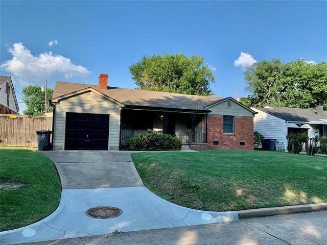 1825 S Columbia Avenue, Tulsa, OK 74104 (MLS #2119616) :: 580 Realty