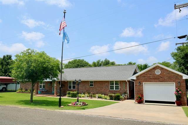 203 S Haskell Street, Elmore City, OK 73433 (MLS #2120174) :: 918HomeTeam - KW Realty Preferred