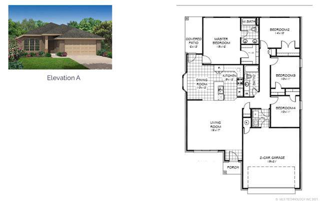 4035 S 211th Place, Broken Arrow, OK 74014 (MLS #2120524) :: Active Real Estate