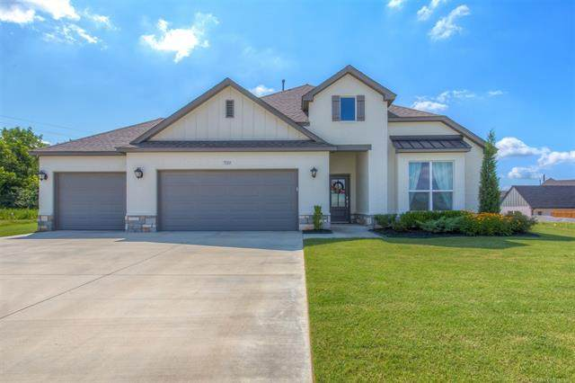 732 E 126th Street S, Jenks, OK 74037 (MLS #2122068) :: Hopper Group at RE/MAX Results