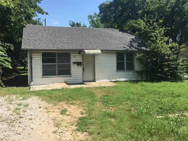 35 Monroe NE, Ardmore, OK 73401 (MLS #2122234) :: 918HomeTeam - KW Realty Preferred