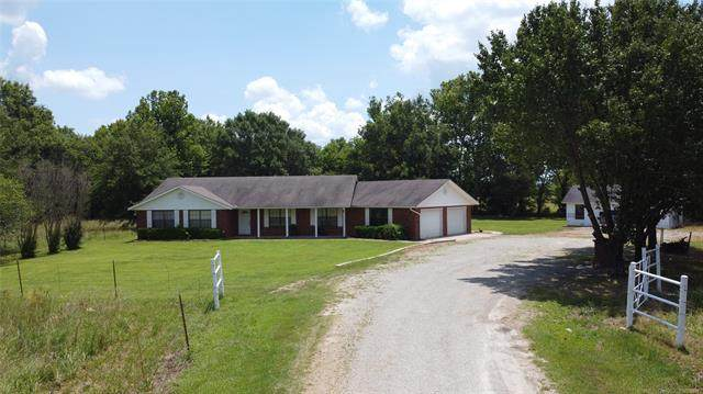 31040 S Lona Valley Road, Kinta, OK 74462 (MLS #2122673) :: Active Real Estate