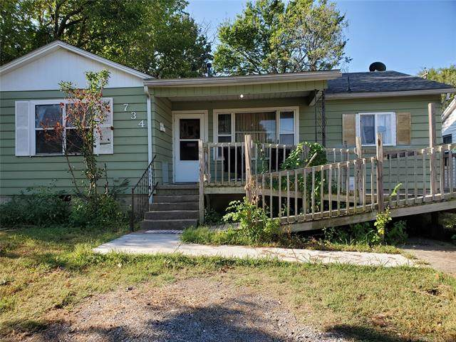 734 W Washington Avenue, Mcalester, OK 74501 (MLS #2122931) :: Active Real Estate