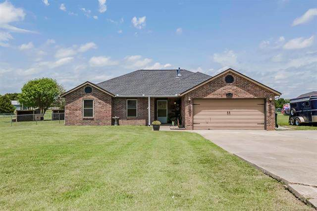 17891 E 101st Place North, Owasso, OK 74055 (MLS #2122975) :: Active Real Estate