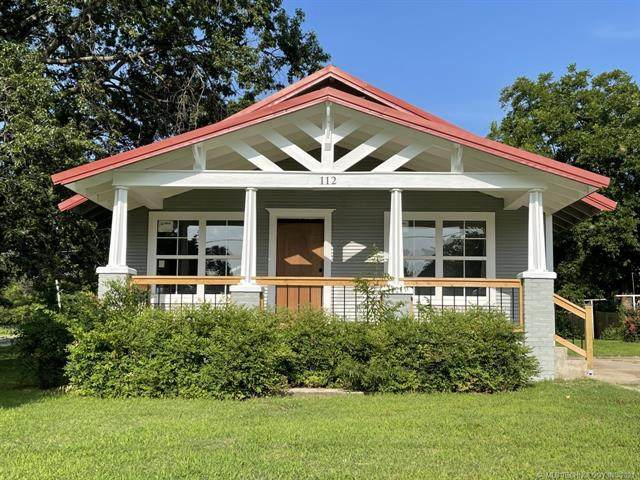 112 N Harrill Avenue, Wagoner, OK 74467 (MLS #2123021) :: Owasso Homes and Lifestyle
