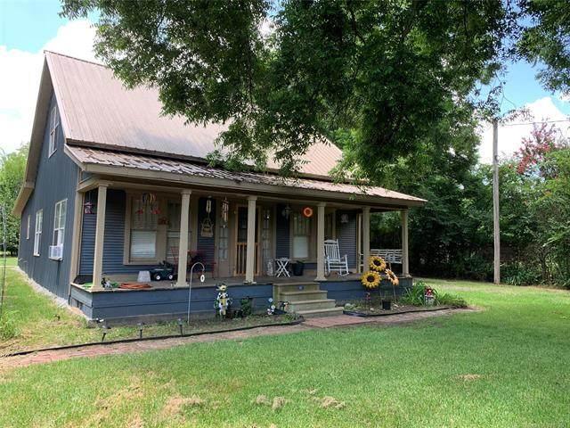 311 N Choctaw Street, Caddo, OK 74729 (MLS #2123843) :: 580 Realty