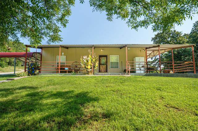 2951 E Shalmar Road, Davis, OK 73086 (MLS #2124401) :: 580 Realty