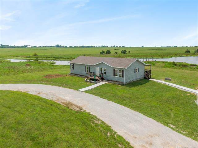 445551 E 80 Road, Welch, OK 74369 (MLS #2124588) :: 580 Realty