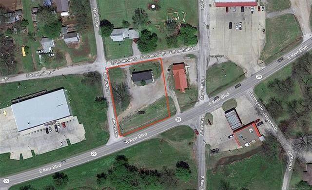 E Kerr, Wynnewood, OK 73098 (MLS #2124736) :: Owasso Homes and Lifestyle