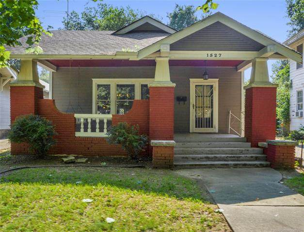 1527 S Yorktown Avenue, Tulsa, OK 74104 (MLS #2124750) :: Active Real Estate