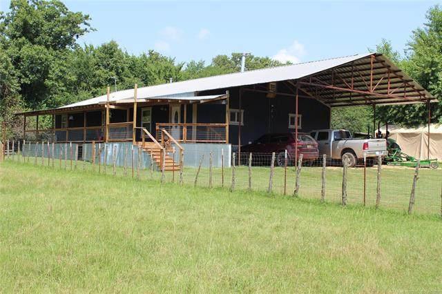 1512 W Woodcraft, Bennington, OK 74723 (MLS #2125371) :: Active Real Estate