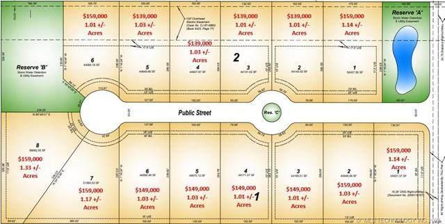 Lot 5 Blk 1 Woodward Acres II Street, Bixby, OK 74008 (MLS #2125422) :: Owasso Homes and Lifestyle