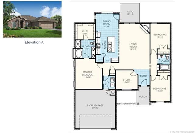 6342 E 148th Street S, Bixby, OK 74008 (MLS #2125685) :: Owasso Homes and Lifestyle
