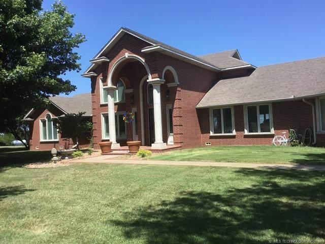 7780 Highway 106 Highway, Madill, OK 73446 (MLS #2127340) :: Active Real Estate