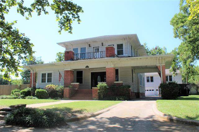 801 W Lillie Boulevard, Madill, OK 73446 (MLS #2128827) :: Active Real Estate