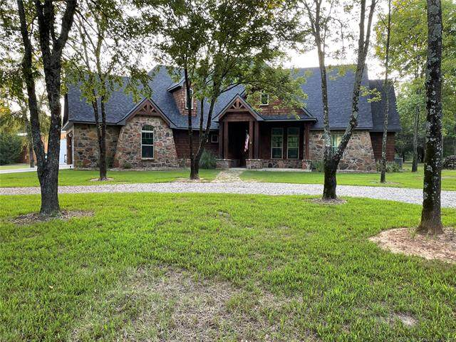375 S Texoma, Mead, OK 73449 (MLS #2128915) :: Active Real Estate