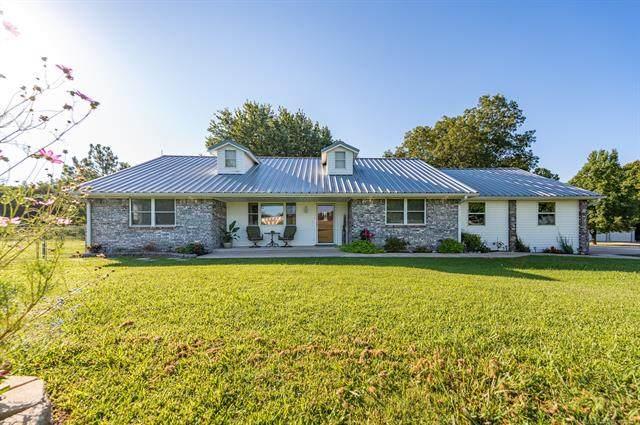 1853 Cedar Blue Road, Sulphur, OK 73086 (MLS #2129591) :: Owasso Homes and Lifestyle