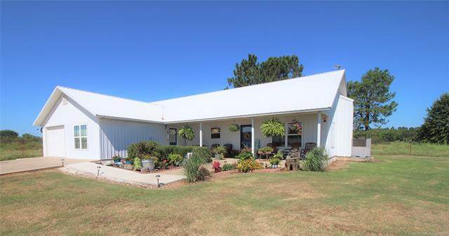 20229 E Perry Road, Stigler, OK 74462 (MLS #2130847) :: Owasso Homes and Lifestyle