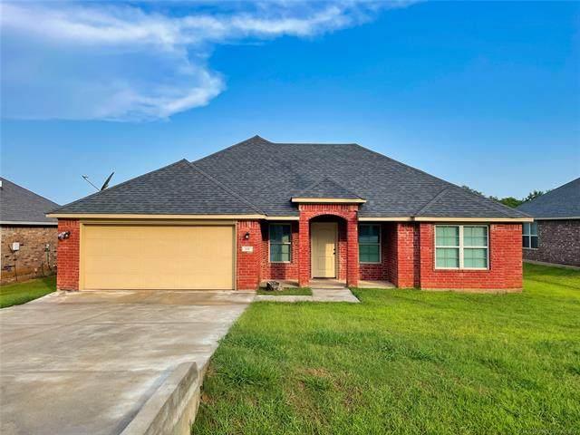 850 S Mckinley Avenue, Calera, OK 74730 (MLS #2130905) :: Owasso Homes and Lifestyle