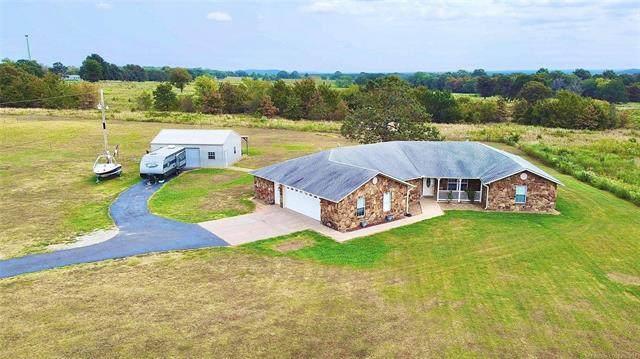 40031 S County Road 4470, Stigler, OK 74462 (MLS #2130923) :: Owasso Homes and Lifestyle