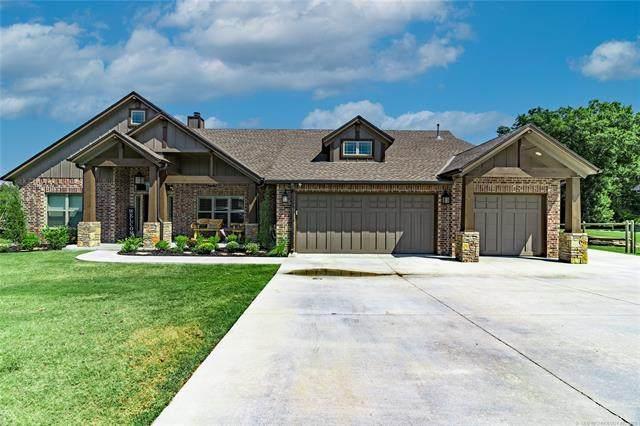 4301 S Teal Ridge Drive, Sand Springs, OK 74063 (MLS #2131254) :: 918HomeTeam - KW Realty Preferred