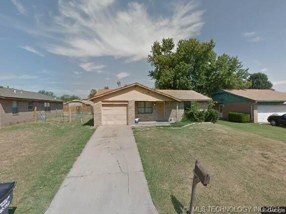 577 W 148th Plaza S, Glenpool, OK 74033 (MLS #2131640) :: 580 Realty