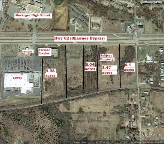 3401 E Shawnee Bypass, Muskogee, OK 74403 (MLS #2132606) :: Owasso Homes and Lifestyle