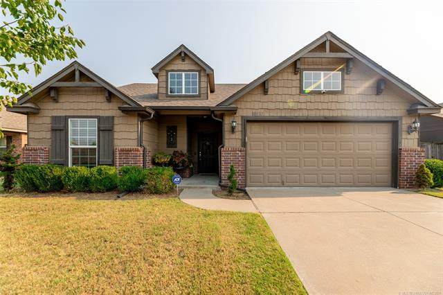 10437 S Nathan Street, Jenks, OK 74037 (MLS #2132690) :: Active Real Estate