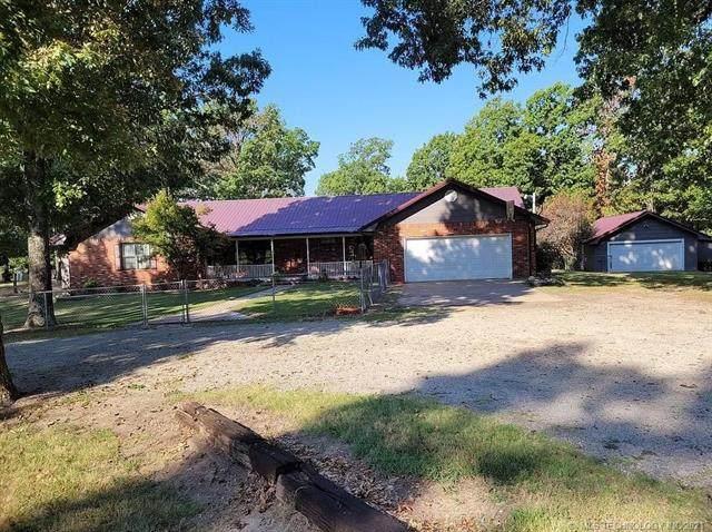 417554 Hwy 150, Checotah, OK 74426 (MLS #2132819) :: Active Real Estate