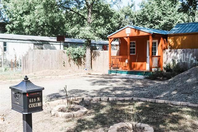 618 N Columbus Street N, Spiro, OK 74959 (MLS #2132853) :: Owasso Homes and Lifestyle