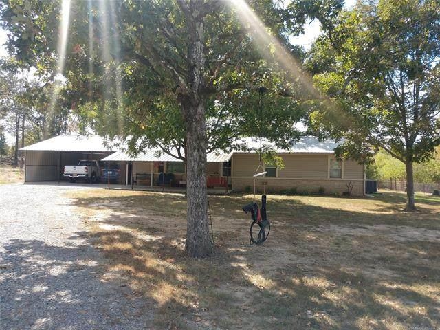 43169 Green Hill Road, Talihina, OK 74571 (MLS #2132895) :: Owasso Homes and Lifestyle