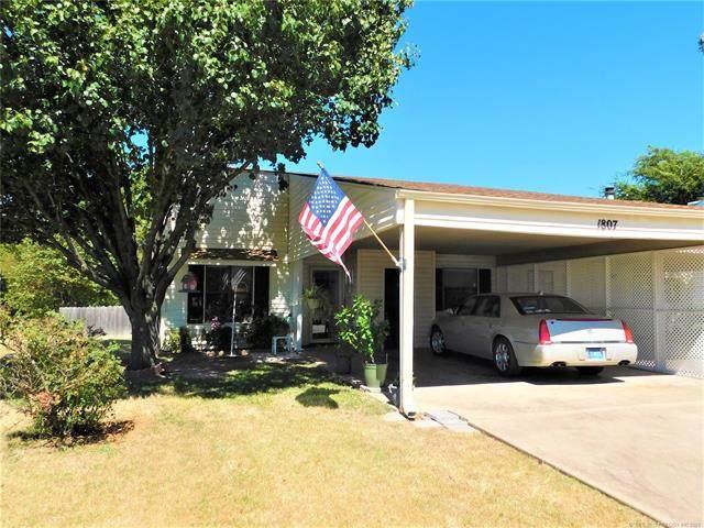 1807 Knox Street, Ardmore, OK 73401 (MLS #2133301) :: Active Real Estate