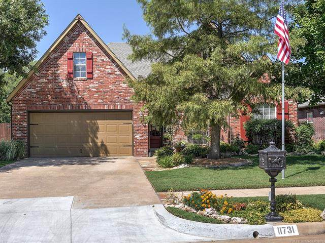 11731 S 91st East Avenue, Bixby, OK 74008 (MLS #2133355) :: Active Real Estate